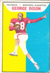 1965 Topps CFL George Dixon