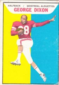 1965 Topps CFL George Dixon