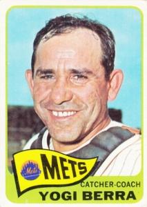 1965 Topps Yogi Berra