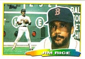 1988 Big Baseball Jim Rice