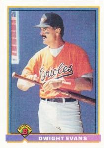 1991 Bowman Dwight Evans