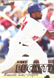 1997 Fleer Kirby Puckett