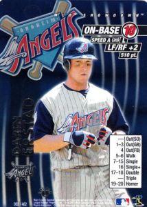 2001 MLB Showdown Darin Erstad