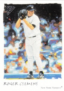 2002 Topps Gallery Roger Clemens