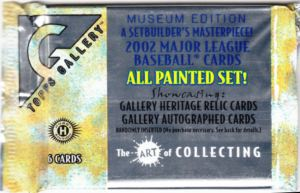 2002 Topps Gallery wrapper