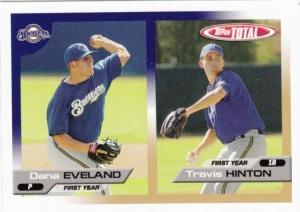 2005 Topps Total Eveland Hinton