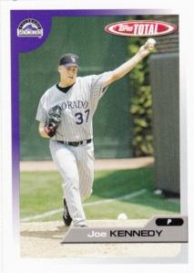 2005 Topps Total Joe Kennedy