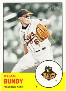 2012 Topps Heritage Minor League Dylan Bundy