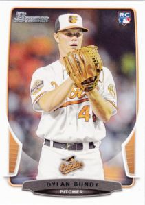 2013 Bowman Draft Picks Prospects Dylan Bundy