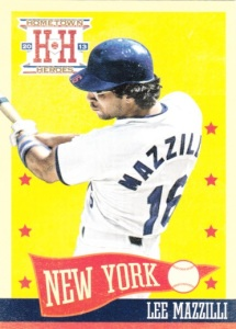 2013 Panini Hometown Heroes Lee Mazzilli