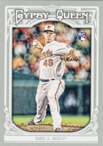 2013 Topps Gypsy Queen Dylan Bundy