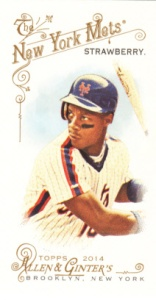 2014 Allen & Ginter Darryl Strawberry Mini