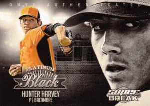 2015 Onyx Platinum Black Super Break Hunter Harvey
