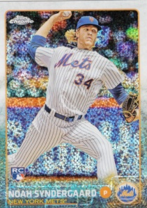 2015 Topps Update MegaBox Noah Syndergaard