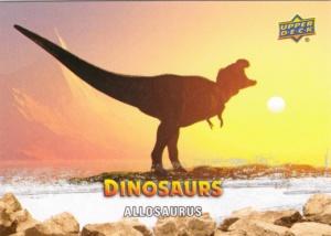 2015 Upper Deck Dinosaurs Allosaurus
