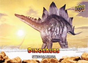 2015 Upper Deck Dinosaurs Stegosaurus