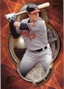 2016 Topps Changing Of The Guard Manny Machado