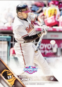 2016 Topps Opening Day Adam Jones