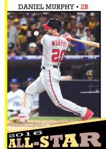 2016 TSR #351 - Daniel Murphy All-Star