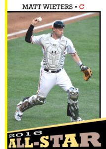 2016 TSR #352 - Matt Wieters All-Star