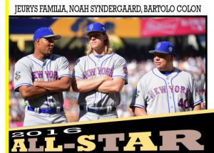 2016 TSR #357 - Familia Syndergaard Colon All-Star