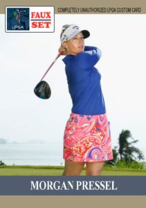 2016 TSR Faux Set Morgan Pressel
