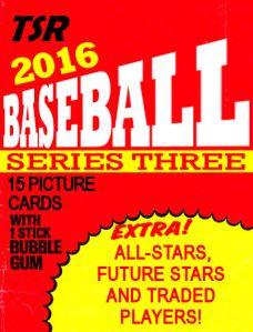 2016 TSR Series Three wrapper