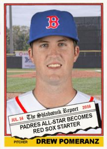 2016 TSRchives 76T-7 Drew Pomeranz