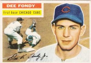 1956 Topps Dee Fondy