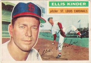 1956 Topps Ellis Kinder