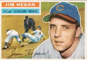 1956 Topps Jim Hegan