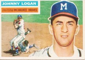1956 Topps Johnny Logan