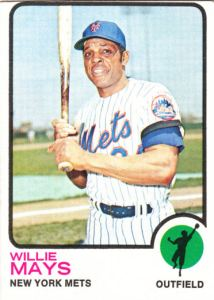 1973 Topps Willie Mays