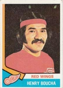 1974-75 Topps Hockey Henry Boucha