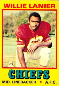 1974 Wonder Bread All-Stars Willie Lanier