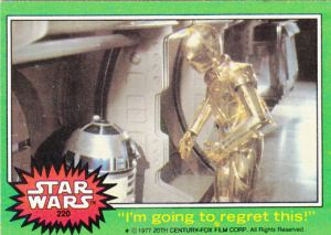1977 Topps Star Wars #220