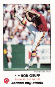 1980 Kansas City Chiefs Police Bob Grupp