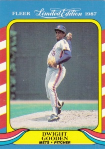 1987 Fleer Limited Edition Dwight Gooden