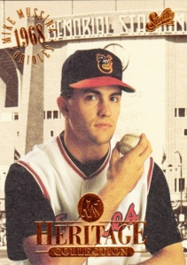 1994 Donruss Studio Heritage Collection Mike Mussina