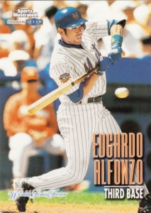 1998 Fleer Sports Illustrated World Series Fever Edgardo Alfonzo