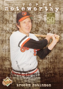 2001 Topps Noteworthy Brooks Robinson