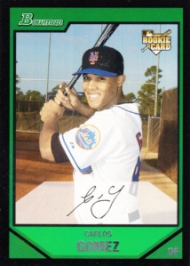 2007 Bowman Draft Picks & Prospects Carlos Gomez
