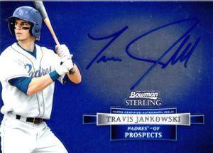 2012 Bowman Sterling Autographed Prospects Travis Jankowski