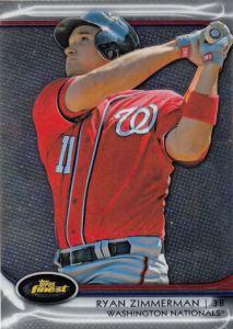 2012 Topps Finest Ryan Zimmerman