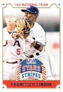 2015 Panini Stars And Stripes Francisco Lindor