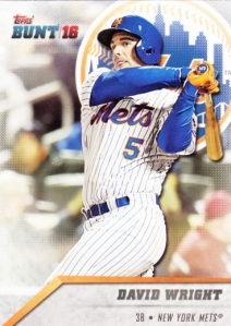 2016 Topps Bunt David Wright