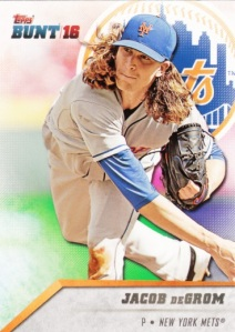 2016 Topps Bunt Jacob deGrom