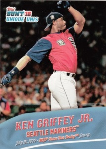 2016 Topps Bunt Unique Unis Ken Griffey