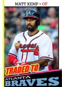 2016 TSR #323 - Matt Kemp traded