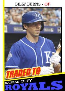 2016 TSR #324 - Billy Burns traded